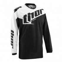 Koszulka Bluzka motocyklowa Thor TILT Black rozmiar M