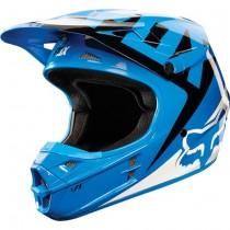 Kask motocyklowy MX ENDURO FOX V1 Race BLUE rozmiar XL