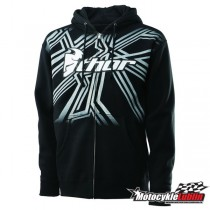Bluza Thor MAZE YOUTH ZIP-UP / Black rozmiar M