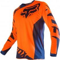Bluza motocyklowa FOX 180 RACE BLUE/ORANGE JERSEY rozmiar S