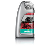 Olej MOTOREX CROSS POWER Full Synthetic 2T