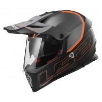 KASK MOTOCYKLOWY LS2 MX436 ELEMENT TITANIUM