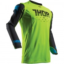 Bluza crossowa THOR PRIME FIT GREEN/BLACK
