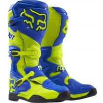 Buty crossowe FOX COMP 8 Yellow/Blue