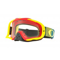 Gogle OAKLEY CROWBAR MX Shockwave RYB w/Clear