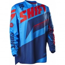 Bluza motocyklowa Shift Assualt Blue MX Cross