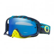 Gogle Oakley Crowbar Braking Bumps Blue Green w/Black ICE Iridium