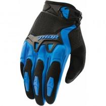 Rękawice motocyklowe Thor SPECTRUM BLACK/BLUE rozmiar M