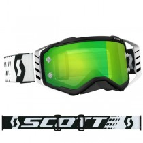 Gogle SCOTT PROSPECT Black / White - Lens Green Chrome Works