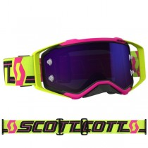 Gogle SCOTT PROSPECT Pink / Yellow - Lens Purple Chrome Works