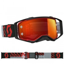 Gogole SCOTT PROSPECT Red / Black - Lens Orange Chrome Works /S2