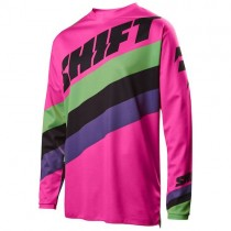 Bluza motocyklowa SHIFT WHIT3 TARMAC Pink rozmiar S
