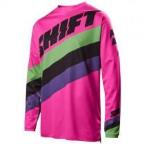 Bluza motocyklowa SHIFT WHIT3 TARMAC Pink rozmiar XXL