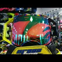 Gogle OAKLEY AIRBRAKE MX Valentino Rossi Signature w/Jade PRIZM Iridium