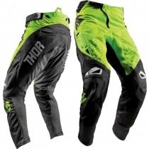 Spodnie MX cross THOR FUSE BION LIME rozmiar 32